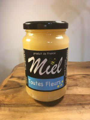 Miel toutes fleurs 500g